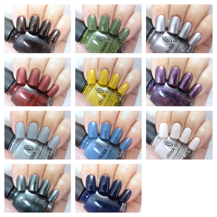 China Glaze - Ready to wear collection